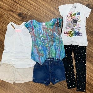 Lot of 3 mix and match outfits size medium (7-8)